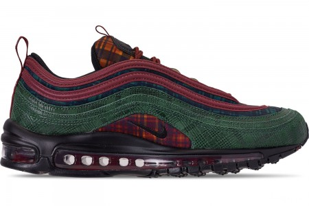 Nike Men's Air Max 97 NRG Casual Shoes - Team Red/Midnight Spruce