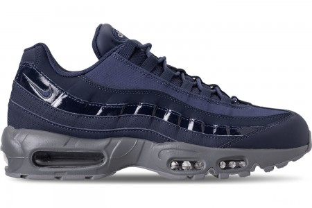 Nike Men's Air Max 95 RM Casual Shoes - Obsidian/Cobalt