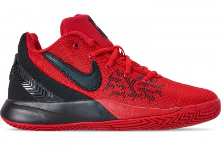 Nike Boys' Big Kids' Kyrie Flytrap II Basketball Shoes - University Red/Black