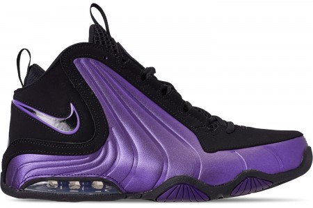 Nike Men's Air Max Wavy Basketball Shoes - Eggplant/Black/Black