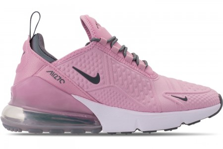 Nike Girls' Big Kids' Air Max 270 SE Casual Shoes - Light Arctic Pink/Cool Grey/White