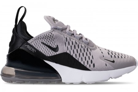 Nike Women's Air Max 270 Casual Shoes - Atmosphere Grey/Black/Gunsmoke/White