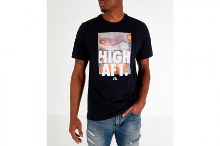 Nike Men's Sportswear AF1 T-Shirt - Black