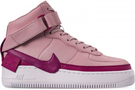Nike Women's AF1 Jester High XX Casual Shoes - Plum Chalk/True Berry/White