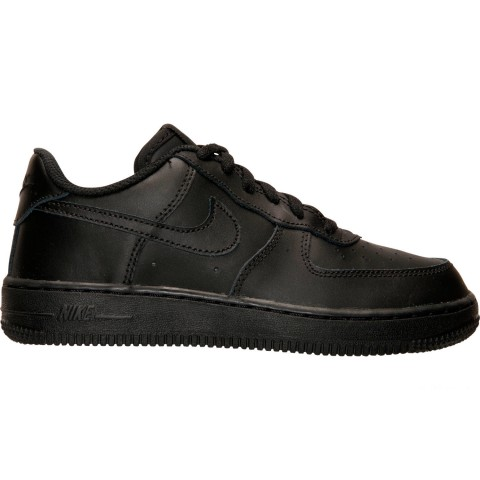 Nike Little Kids' Air Force 1 Low Casual Shoes - Black
