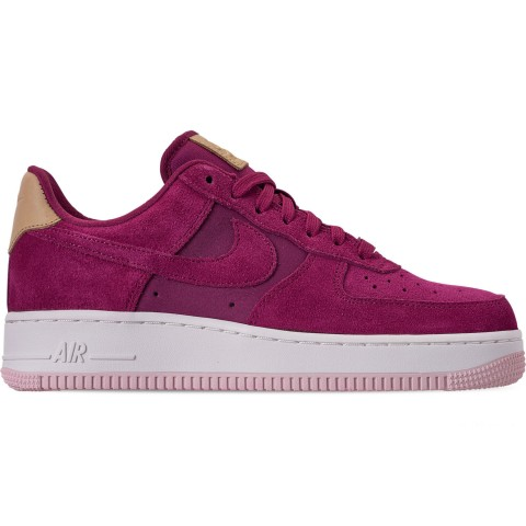 Nike Women's Air Force 1 '07 Premium Casual Shoes - True Berry/Summit White