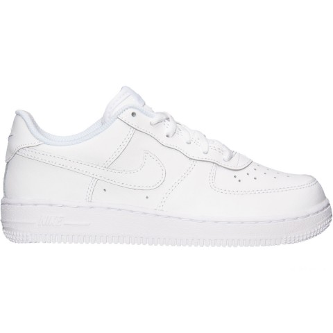 Nike Little Kids' Air Force 1 Low Casual Shoes - White/White/White