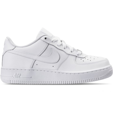 Nike Big Kids' Air Force 1 Low Casual Shoes - White