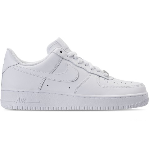 Nike Men's Air Force 1 Low Casual Shoes - White/White