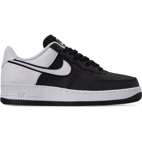 Nike Men's Air Force 1 '07 LV8 1 Casual Shoes - Black/White