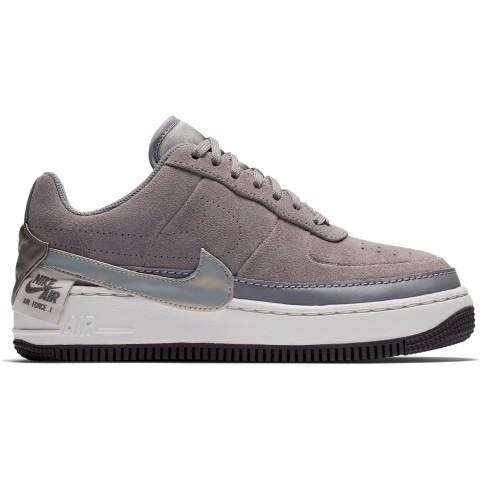 Nike Women's Air Force 1 Jester Low Casual Shoes - Gunsmoke/Metallic Pewter/Vast Grey