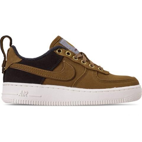 Nike Boys' Big Kids' Air Force 1 '07 Premium x Carhartt WIP Casual Shoes - Ale Brown/Ale Brown/Sail