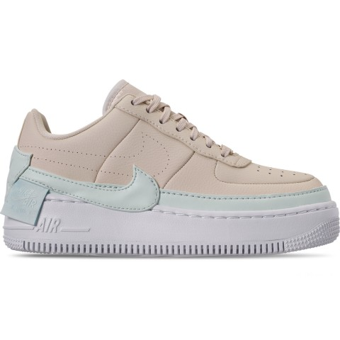 Nike Women's AF1 Jester XX Casual Shoes - Light Cream/Ghost Aqua/White