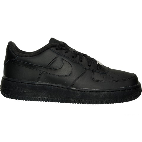 Nike Big Kids' Air Force 1 Low Casual Shoes - Black