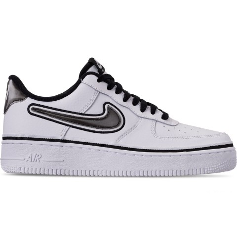 Nike Men's Air Force 1 '07 LV8 Sport Casual Shoes - White/Black