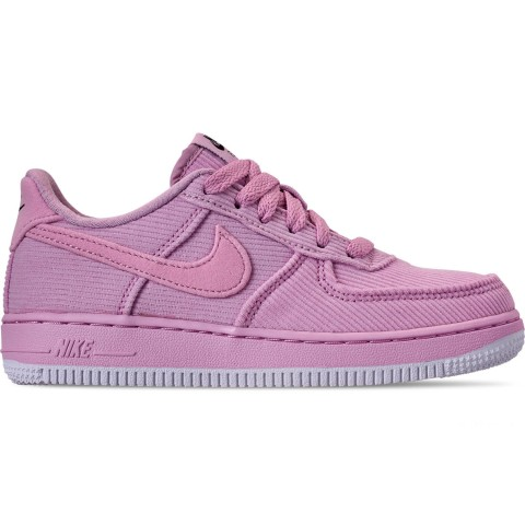Nike Girls' Little Kids' Air Force 1 '07 LV8 Style Casual Shoes - Light Arctic Pink/Black