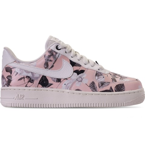 Nike Women's Air Force 1 '07 LXX Casual Shoes - Summit White/Black/Pale Pink