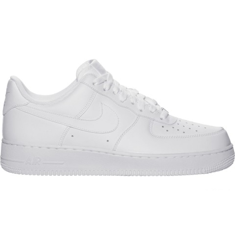 Nike Women's Air Force 1 Low Casual Shoes - White/White/White