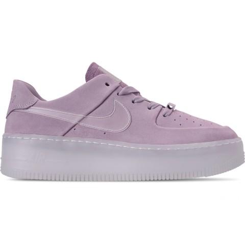 Nike Women's Air Force 1 Sage Low LX Casual Shoes - Violet Mist/Violet Mist