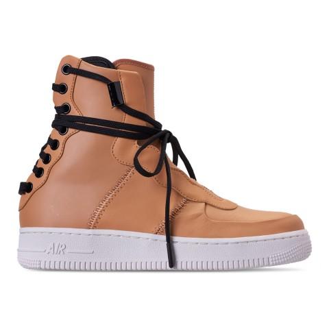 Nike Women's Air Force 1 Rebel XX Casual Shoes - Praline/Black/Summit White