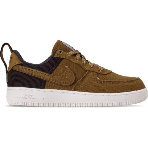 Nike Boys' Little Kids' Air Force 1 '07 Premium x Carhartt WIP Casual Shoes - Ale Brown/Ale Brown/Sail