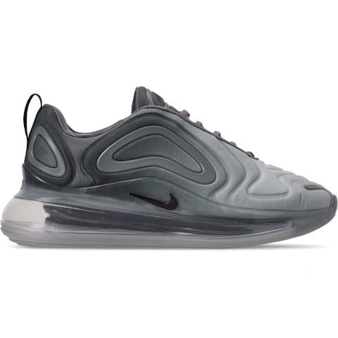 Nike Women's Air Max 720 Running Shoes - Anthracite/Black/Metallic Silver